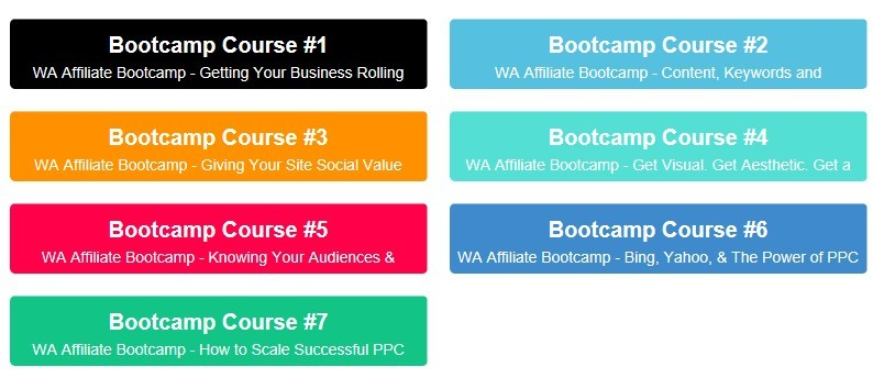 Wealthy Affiliate - Affiliate Bootcamp preview